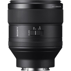 Sony OBJECTIVA SEL 85mm f:1.4 GM