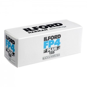 ILFORD Rolo P/B FP4 plus 125 - 120
