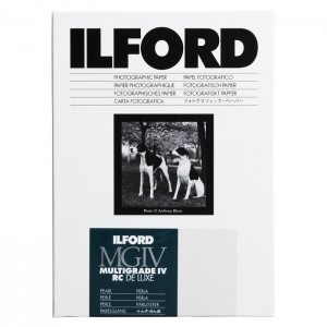 ILFORD Multigrade MGIV 4th RC Deluxe Pearl 10x15cm (x100)